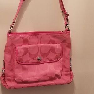Pink Coach  Purse /Crossbody Purse